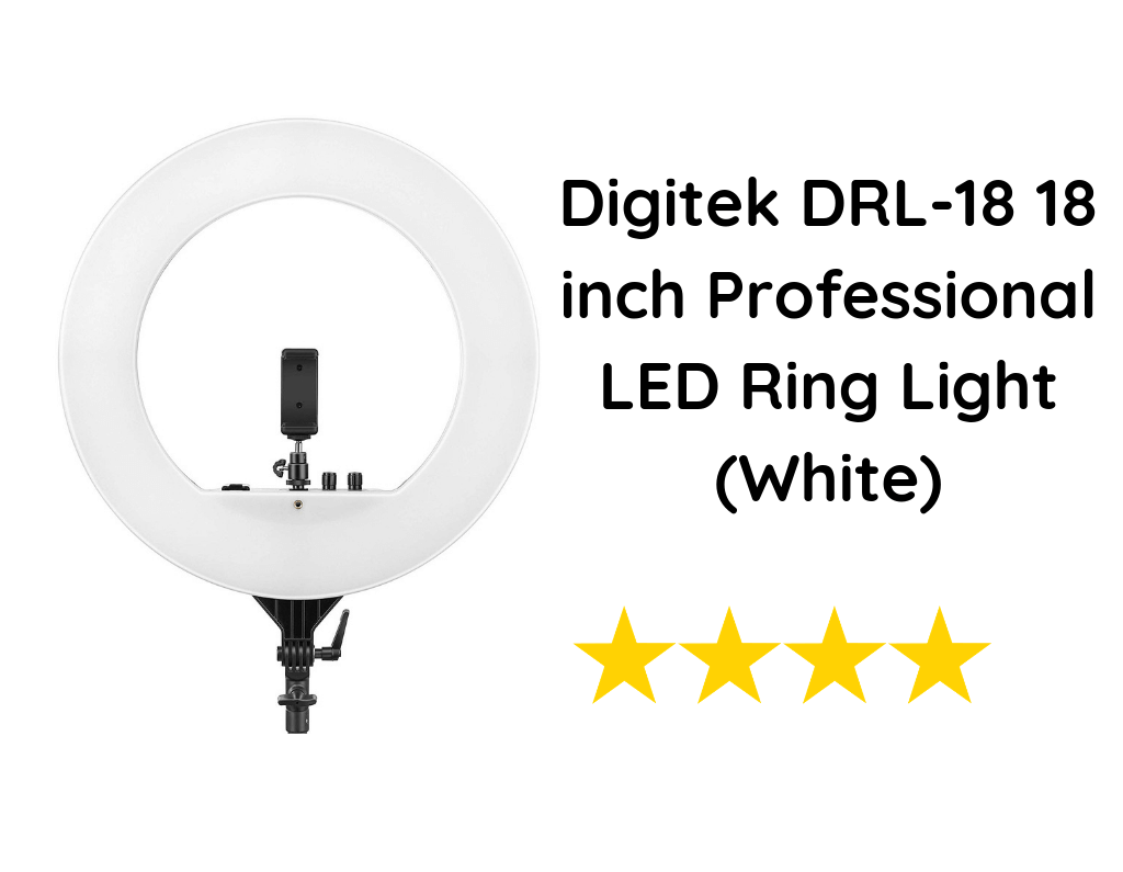 Digitek DRL-18 18 inch Professional LED Ring Light (White)