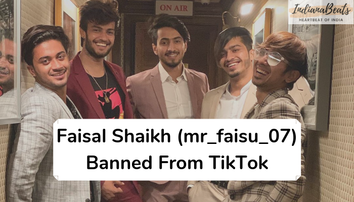 Faisal Shaikh, Why Faisal Shaikh (mr_faisu_07) and his friends are banned from TikTok