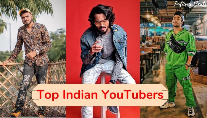 top indian youtubers, top indian youtubers list, top 10 youtubers in india, indian youtubers earnings, no 1 youtuber in india, fastest growing youtubers in india,