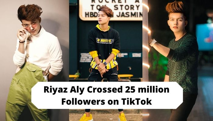 Riyaz Aly (riyaz.14) Crossed 25 million Followers on TikTok App